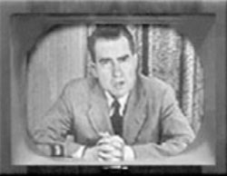The selling point in checkers speech by richard nixon